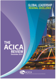 The cover of The ACICA Review December 2014 issue_review_cover_dec2014